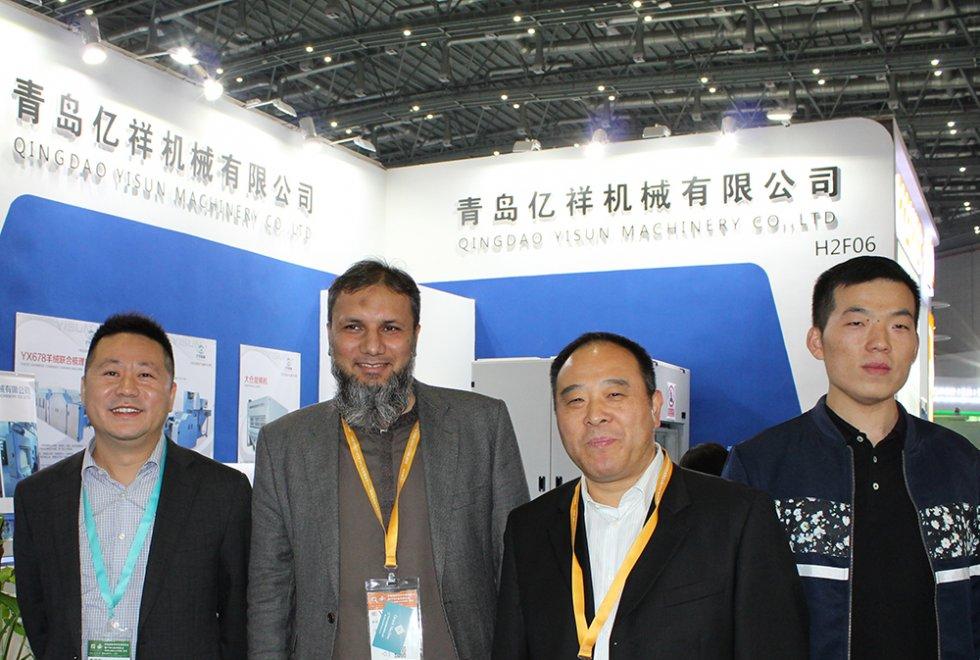 2018上海展会-中国纱线网主编采访